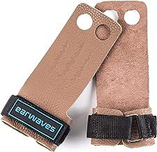 Earwaves ® Rex Grips 2 & 3 gaten - Leer CrossFit handschoenen voor mannen en vrouwen. Hand Grips gymnastiek, gymnastiek, b...