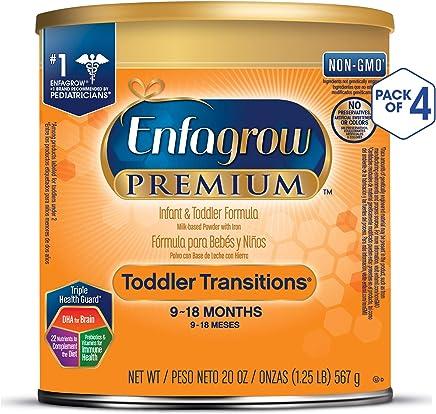 Enfagrow 美贊臣 過渡階段嬰幼兒2段配方奶粉(9-18月) 4罐裝(4*567g)
