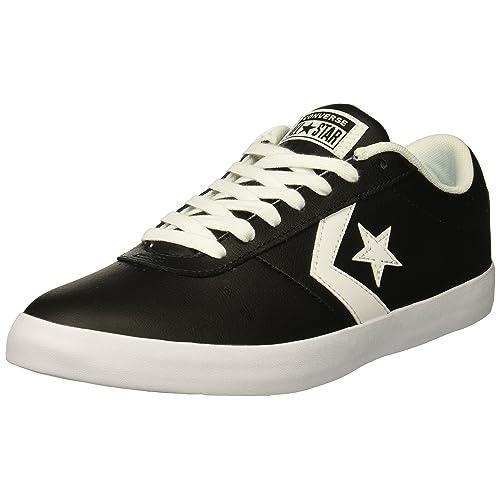 330dd72f1b3 Converse Men s Point Star Leather Low Top Sneaker
