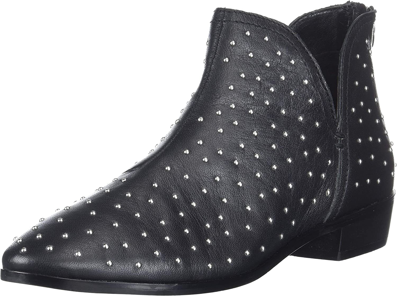 Kenneth Cole REACTION Womens Loop There It is Flat Ankle Bootie Ankle Boot