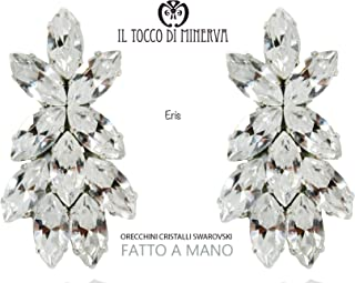 Orecchini in cristallo swarovski Eris - Realizzati a Mano - Made in Italy-HandaMade-Regali ragazza-Prodotto Artigianale-id...
