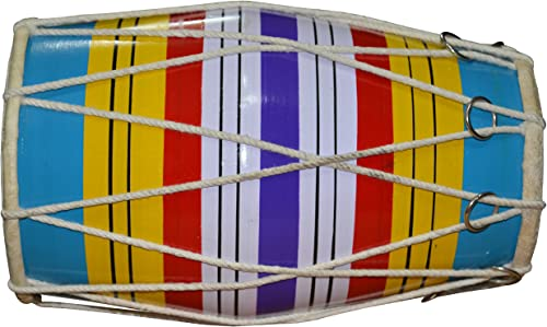 DronaCraft Dholaki Hand Percussion Drum Indian Musical Instrument