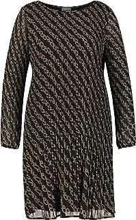 Samoon Kleid Gewebe Vestido Casual. para Mujer
