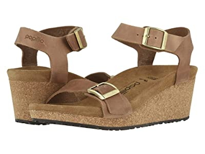 Birkenstock Soley by Papillio (Light Cognac Leather) Women