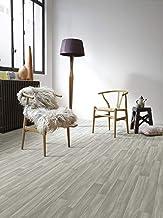 PVC Bodenbelag in grauem Holzton-Design kleines Muster 8,95/€//m/²