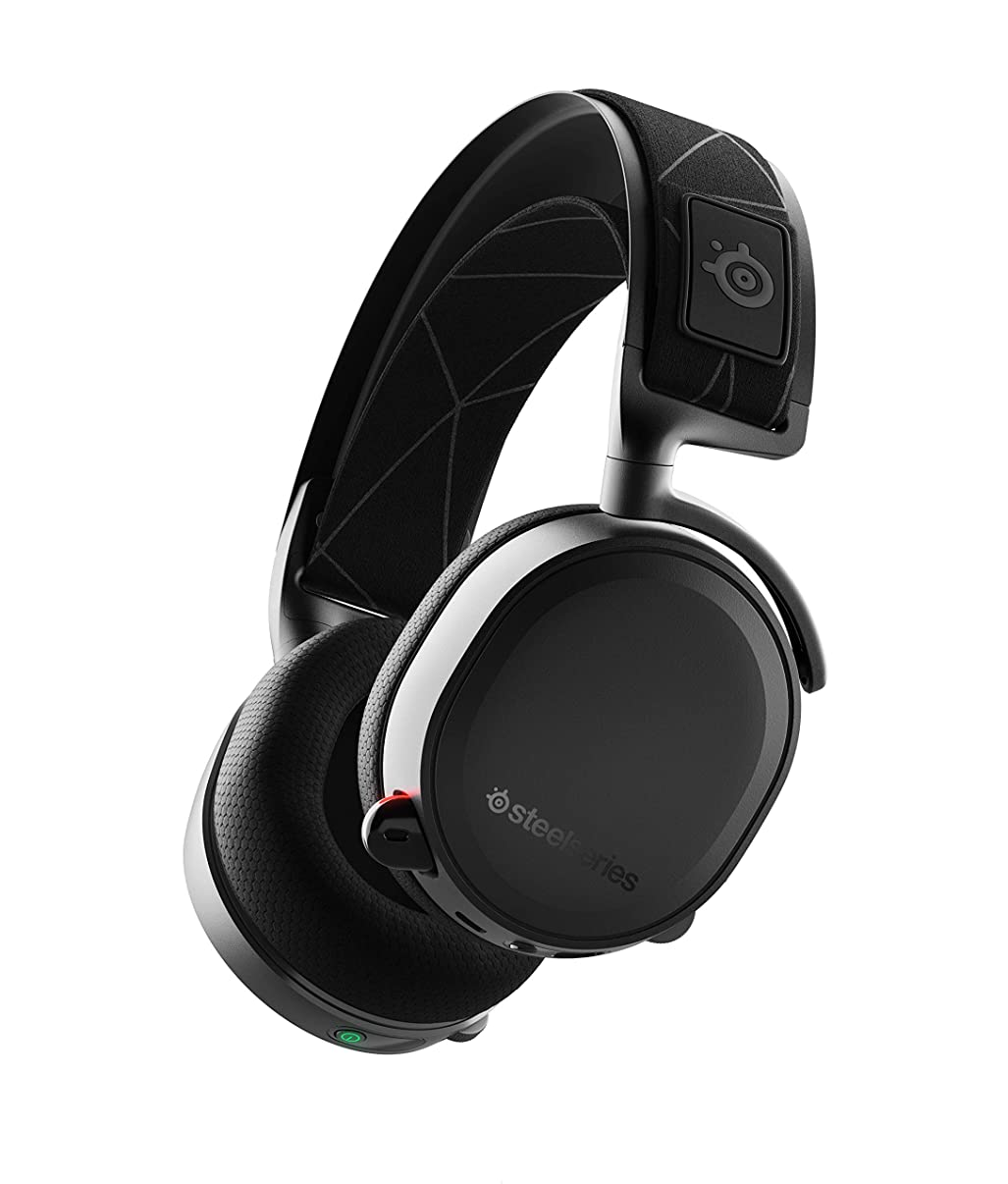 SteelSeries Arctis 7 61505 (2019 Edition) Lossless Wireless Gaming Headset with DTS H, Renewed