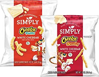 Simply Variety Pack, Cheetos White Cheddar Puffs & Crunchy