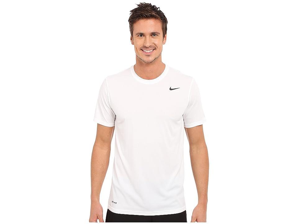 Nike Legend 2.0 Short Sleeve Tee (White/Black/Black) Men