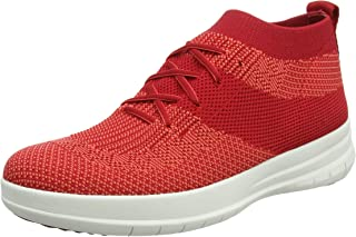 FitFlop Womens Uberknit Slip On High Top Sneakers