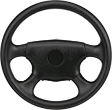 SeaChoice 28510 Universal UV-Resistant 4-Spoke Marine Boat Leather Steering Wheel