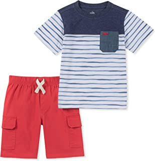 Kids Headquarters Boys' Toddler 2 Pieces Shorts Set