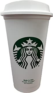 Starbucks Travel Coffee Cup Reusable Recyclable Spill-proof BPA Free Dishwasher Safe..