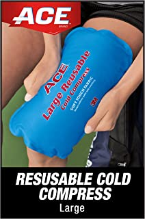 ACE Reusable Cold Compress, Works for knees, shoulder, back, neck and more, Large
