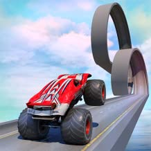 Monster Truck Impossible Track Stunts
