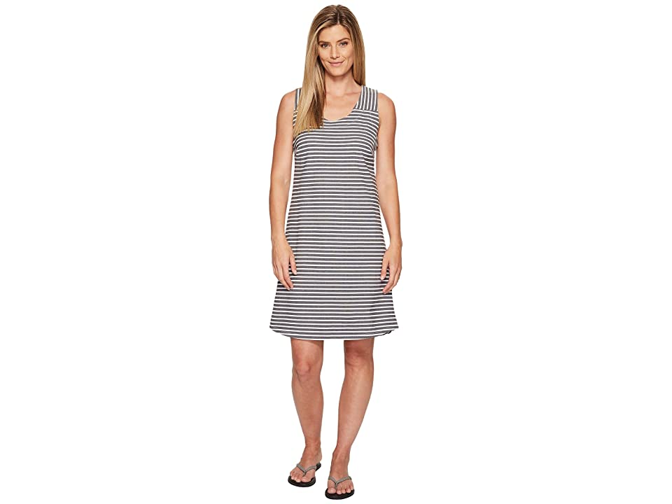 FIG Clothing Bow Dress (Black Stripe) Women