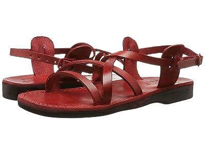Jerusalem Sandals Tzippora Womens (Red) Women