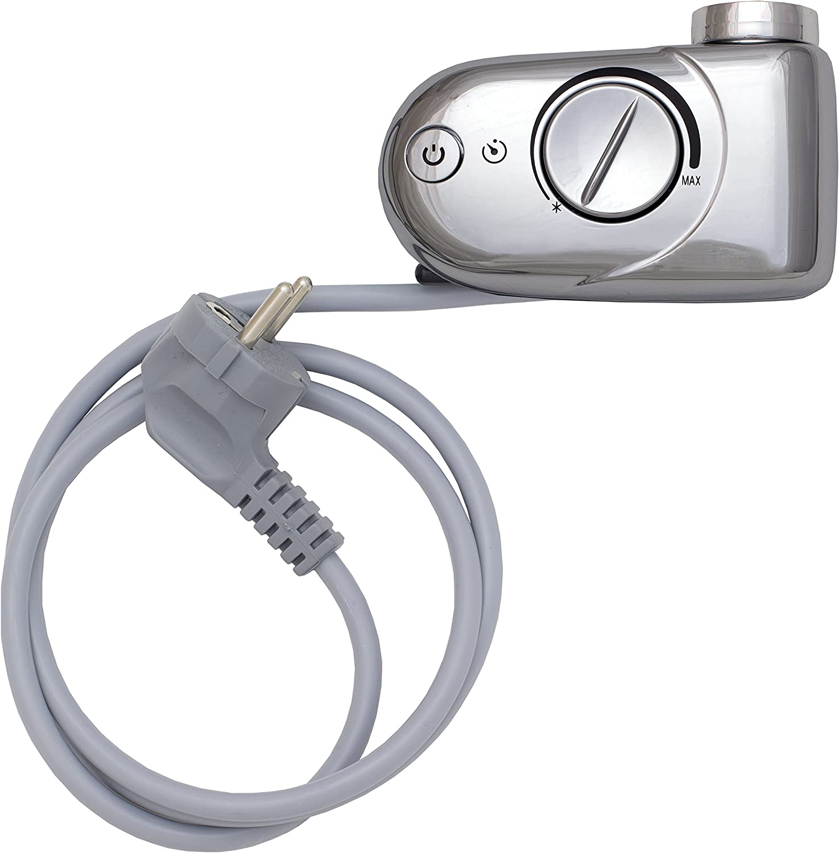 Heizpatrone Heizstab mit Thermostat 300, 600, 900, 1200 Watt für Badheizkrper BZHSRTA900