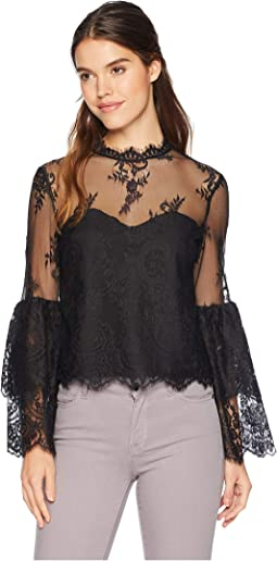Davey Layered Lace Blouse