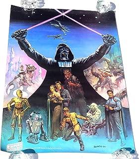 Star Wars Coca Cola Poster Boris Vallejo 24 x 33