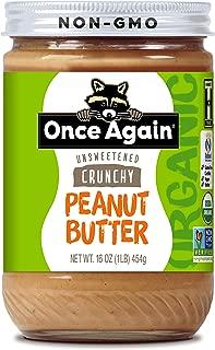Once Again Peanut Butter Crunchy Organic, 16 oz