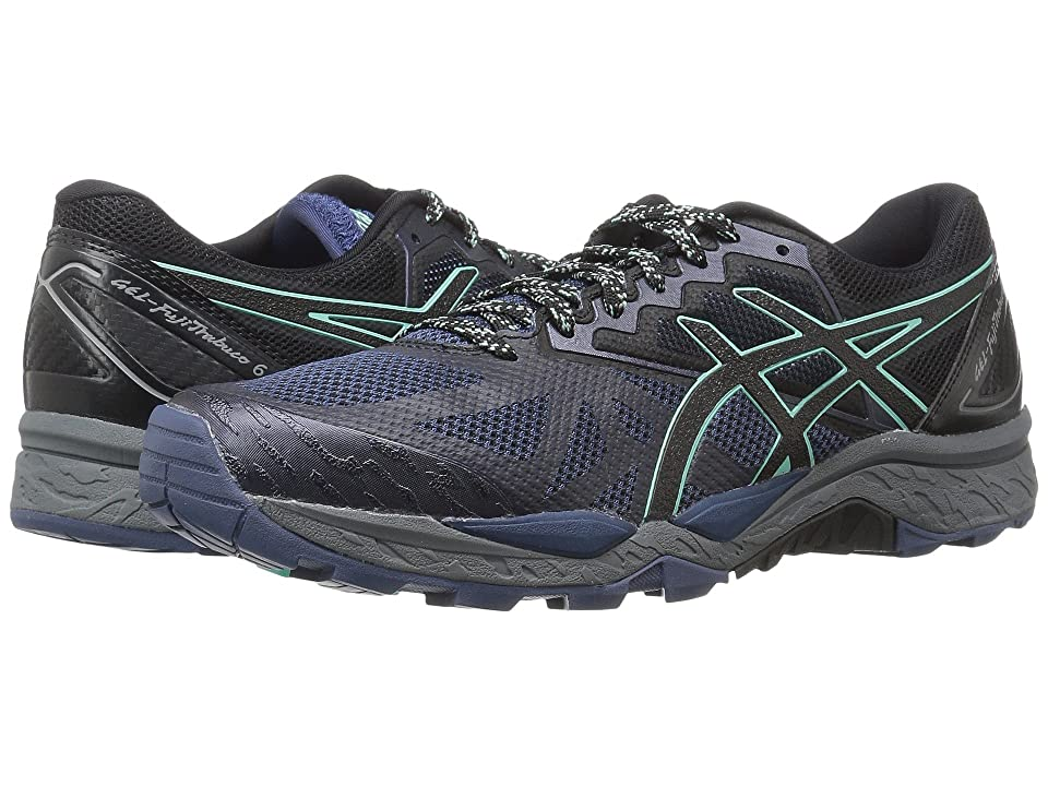 ASICS GEL-Fujitrabuco 6 (Insignia Blue/Black/Ice Green) Women