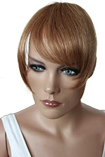 PRETTYSHOP 100% Real Human Hair Clip in Bang Fringe Extensions Hairpiece Div. Colors H313o