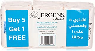 Jergens Anti Bacterial Soap, 125 gm, Pack of 6
