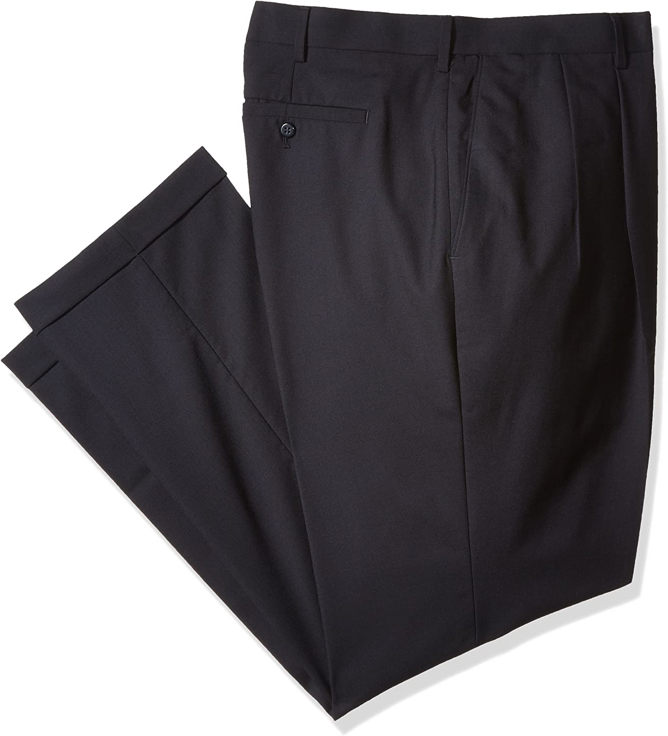 Super special price Louis Raphael Men's Big-Tall Luxe Wool Pant 100% Dress Extension online shopping