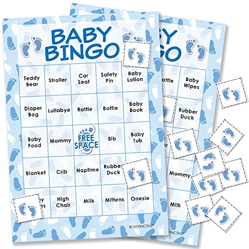 photo about 50 Free Printable Baby Bingo Cards identified as Boy or girl Shower Bingo Playing cards: