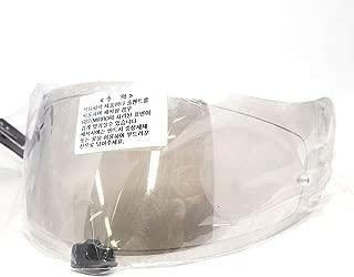 HJC Helmet Shield / Visor HJ-20M(Gold, Silver, Blue) For FG-17, IS-17, RPHA ST helmets, Bike Racing Motorcycle Helmet Accessories - Made in Korea (Silver)