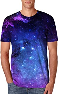 Best galaxy print shirt mens Reviews