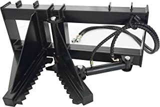 skid steer post puller attachment