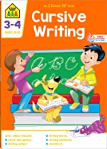 School Zone - Cursive Writing Workbook - 64 Pages, Ages 8 to 10, Grades 3 to 4, Practice Handwriting, Tracing, Letters, Words, Sentences, and More (School Zone I Know It!® Workbook Series)