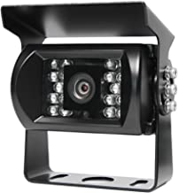 Rear View Safety Waterproof Backup Camera with Infra-red Night Vision - Commercial Grade - Built for RV's, Trucks, Trailers and Buses - RVS-770-03