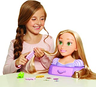 Disney Tangled Magic Hair Rapunzel Styling Head Toy