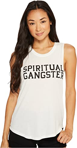 Spiritual Gangster - SG Varsity Muscle Tank Top