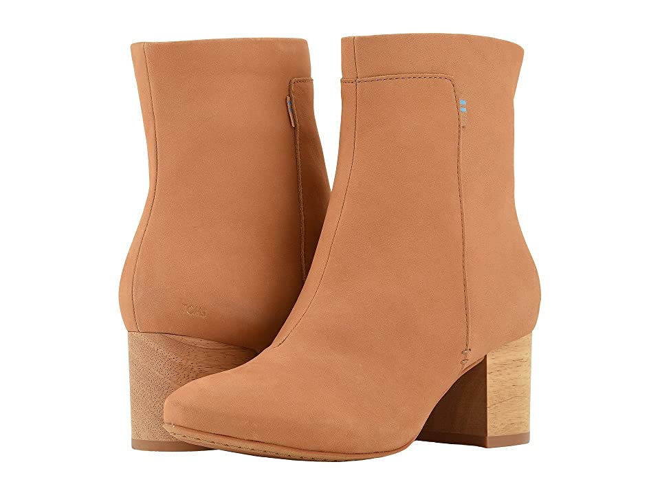 TOMS Evie (Honey Nubuck) Women