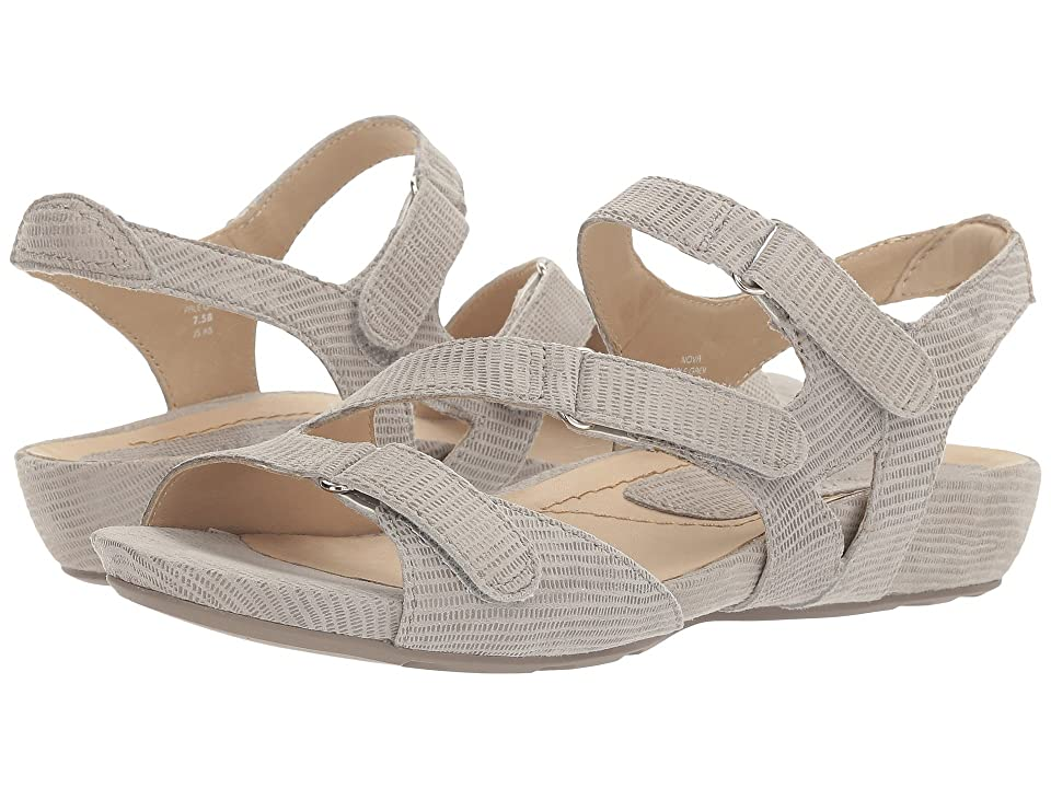 Earth Nova Earthies (Pale Grey Printed Suede) Women