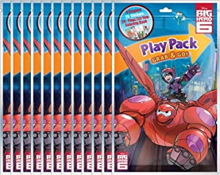 Bendon Big Hero 6 Grab & Go Play Packs (Pack of 12)
