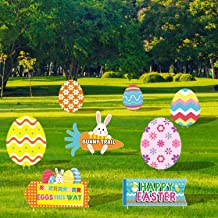 fette di Legno Grezzo con Corde per Decorazioni pasquali da Appendere PIXHOTUL 30 Pezzi Decorazioni in Legno di Pasqua a Forma di Coniglietto e croci