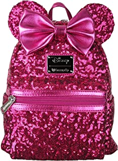 x Disney Minnie Mouse Pink Sequin Mini Backpack