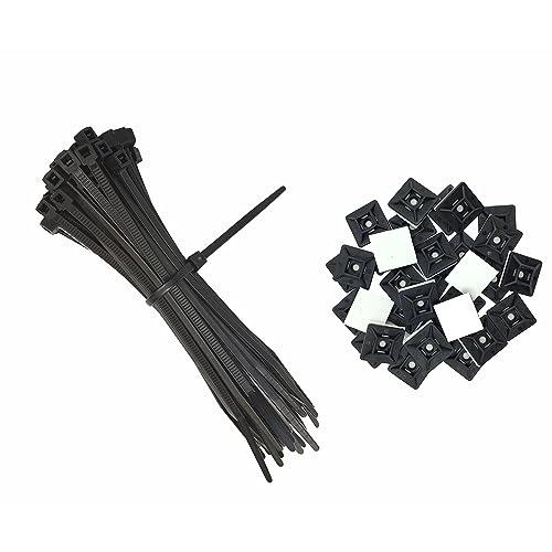 Bag Gb Cable Tie Base Black Bag 5