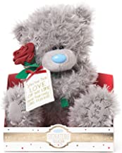 Me To You VP901006 Signature Collection Red Roses Tatty Teddy Bear, Nylon/A