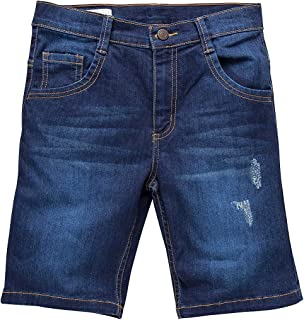 OFFCORSS Big Boys Slim Fit Flat Front Chino Shorts for Kids Bermudas para Niños