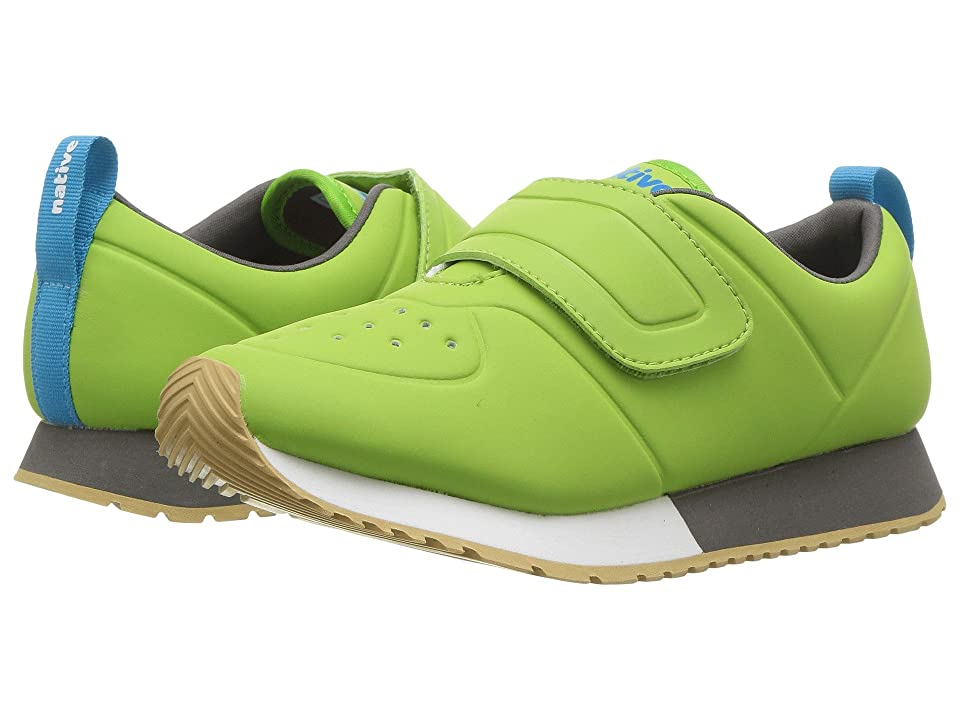 Native Kids Shoes Cornell HL CT (Little Kid) (Spring Green CT/Shell White/Dublin Grey/Gum Rubber) Kids Shoes