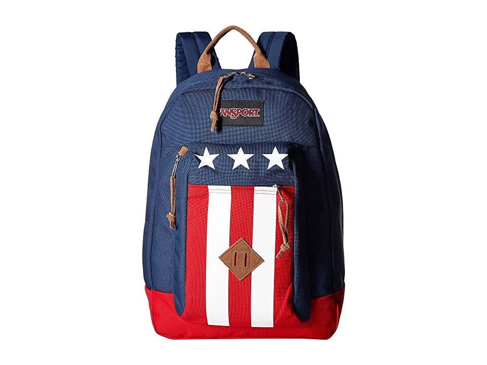 JanSport Reilly (Navy Easy Rider) Backpack Bags