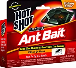 Hot Shot 2040W MaxAttrax Ant Bait, 4 Count, Case Pack of 3