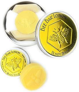 Honey House Naturals Bee Bar Duo– Vanilla – Small .6 ounce & Large 2 ounce