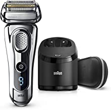 Braun Electric Razor for Men, Series 9 9296CC Electric Shaver With Precision Trimmer, Rechargeable, Wet & Dry Foil Shaver,...