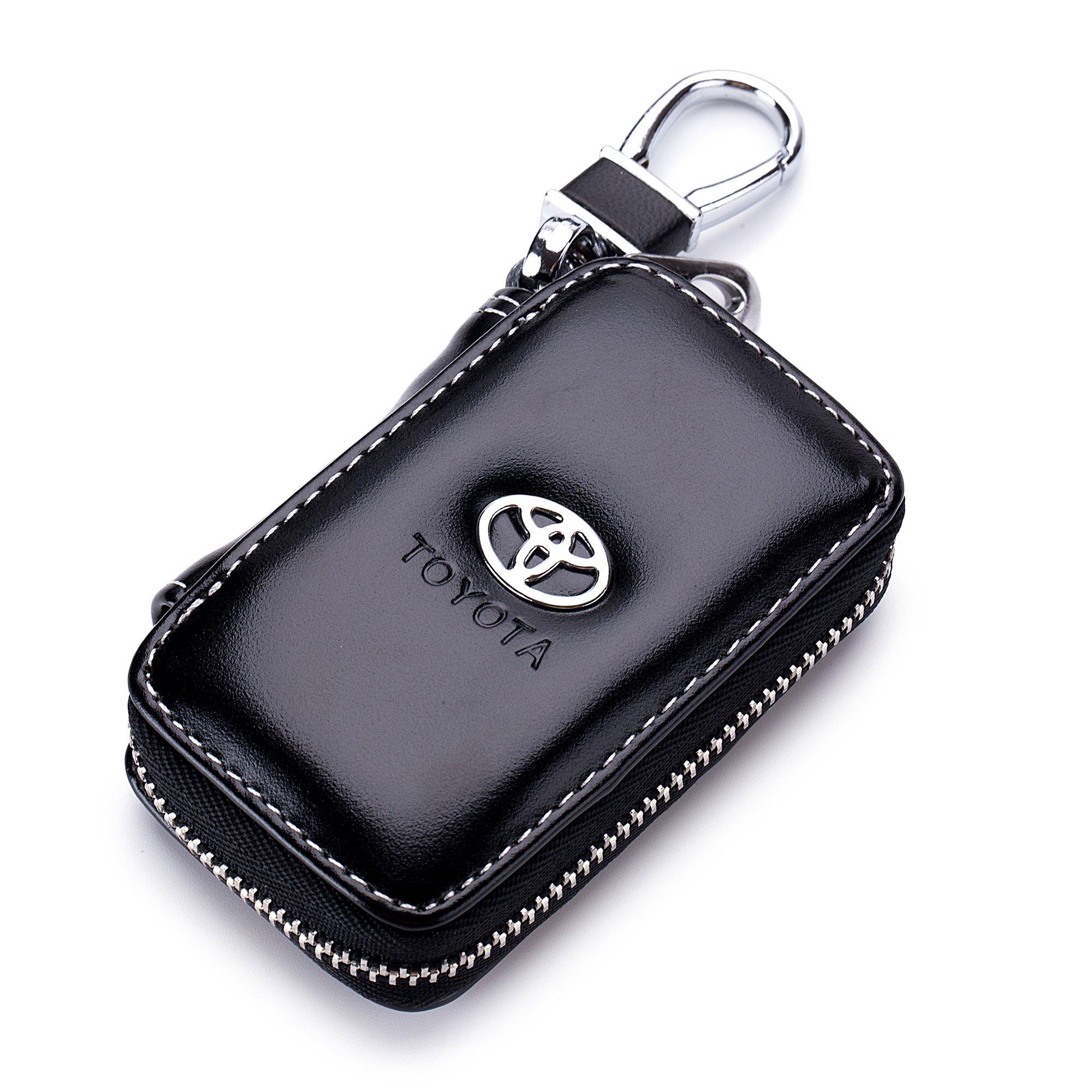 QZS Toyota Leather Holder Zipper